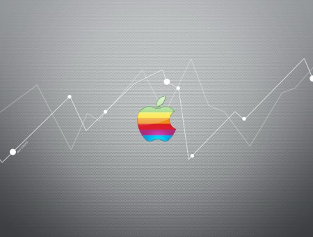 Rainbow Logo Apple