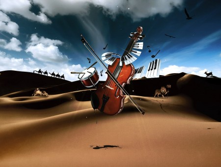 Music in desert