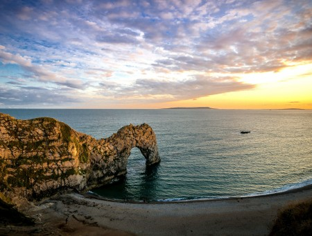 Durdle door in England
