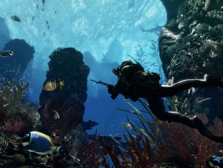 call of duty undersea