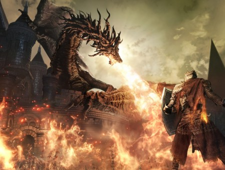 dragon of the dark souls