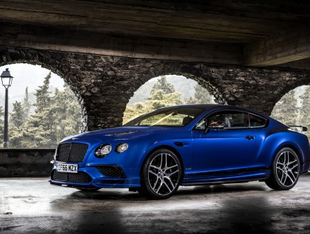 Blue Bentley