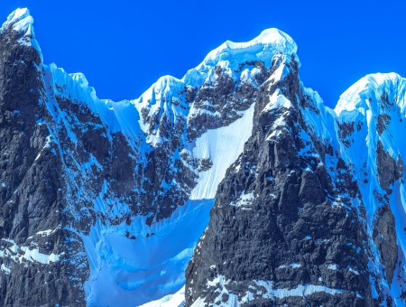 Peak Antarctica mountains