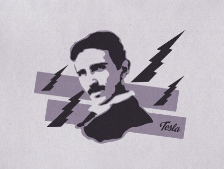 Tesla art wallpapers