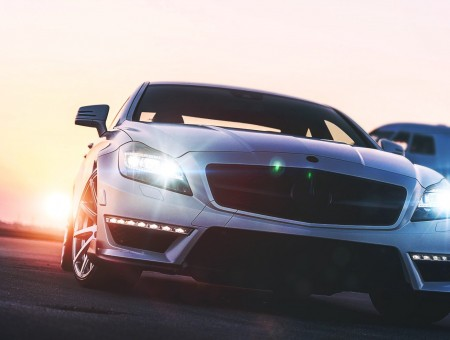 Mercedes-Benz headlights