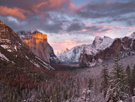 Yosemite mountains