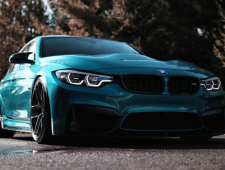BMW F80 on road